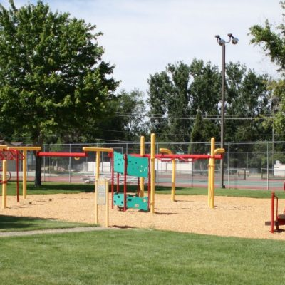Mesa Park - Located across the street