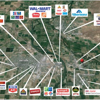 Retail in local area - Fruitland, ID & Ontario, OR